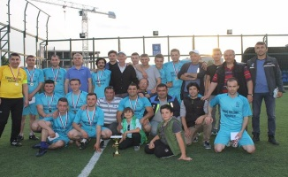 Yenişehir'de futbol turnuvası