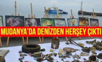 Mudanya'da Denizden her şey çıktı