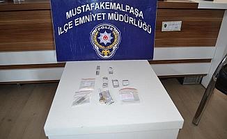 Bursa Mustafakemalpaşa'da uyuşturucu operasyonu