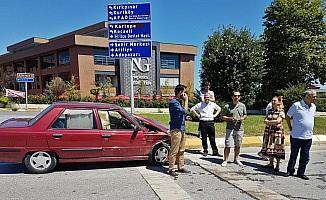 Sakarya'da Trafik Kazası Meydana Geldi Yaralılar Var