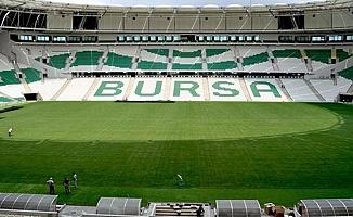 Bursaspor'un Stadı Artık Bundan Sonra Hibrit Çim Olacak