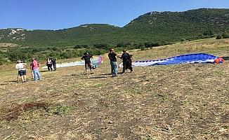Nilüfer Belediyesi'nden Yamaç Paraşütü Başlangıç Kursu