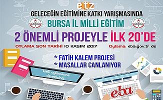 Bursa'dan 2 Proje İle ''Geleceğin Eğitimine Katkı''