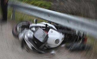 Bursa'da Motor Kazası! 50 Metre Sürüklendi
