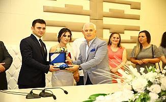 """Nilüfer Nikah Evi'nde  """"08.08.2018"""" Yoğunluğu Yaşandı"""
