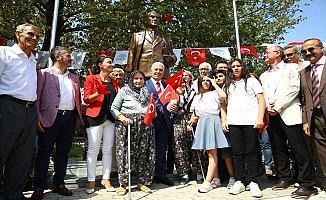 Yaylacık Mahallesi'ne Atatürk heykeli