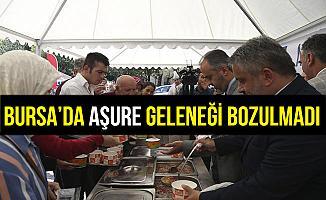 Bursa'da Aşure Geleneği Bozulmadı