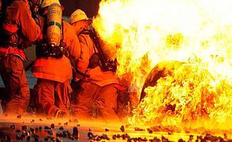 Bursa'da Çıkan Yangın Korkuttu