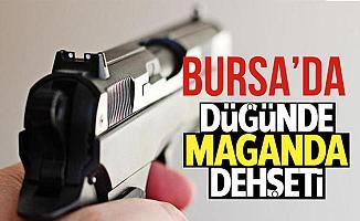 Bursa Orhangazi'deki Düğünde Maganda 3 Kişiyi Yaraladı