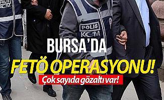 Bursa'da FETÖ Operasyonu: 7 Kişi Tutuklandı