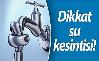 Bursa'da İki İlçede Sular Kesilecek