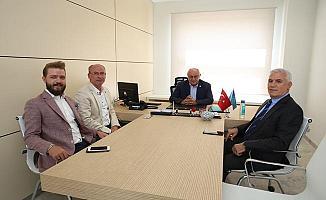İYİ Parti Milletvekili Erozan'dan Bozbey'e ziyaret