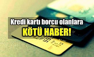 Kredi Kartlarında Azami Faiz Oranları Arttı