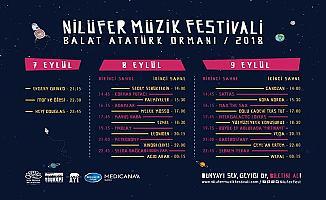 Nilüfer Müzik Festivali Yine Dolu Dolu Geliyor
