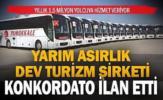 56 Yıllık Pamukkale Turizm Konkordato İlan Etti!