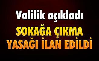 Bitlis'te Sokağa Çıkma Yasağı İlan Edildi!