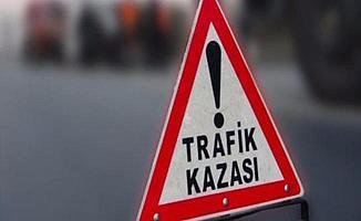 Bursa Acemler'deki Kazada Otomobil Ters Döndü!