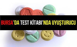 Bursa'da Test Kitabıyla Uyuşturucu Ticareti