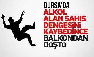 Bursa İnegöl'de Alkollü Genç Evin 4. Katındaki Balkondan Düştü
