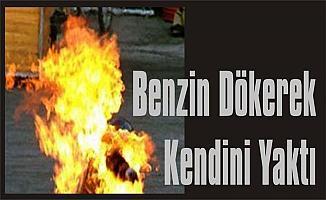Bursa İnegöl'de Bir Şahıs Üzerine Benzin Döküp Kendini Yaktı