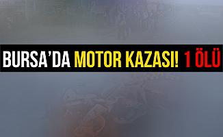 Bursa Mudanya'da Motorsikletle Kamyona Çarpan Şahıs Öldü