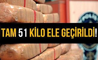 Hakkari Yüksekova'da 51 Kilo Eroin Ele Geçirildi!
