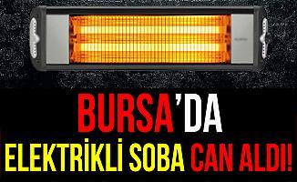 Bursa'da Elektrikli Sobanın Üzerine Düşen Yaşlı Kadın Öldü