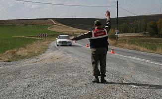 Bursa'da Jandarma'dan 95 Noktada Huzur Operasyonu