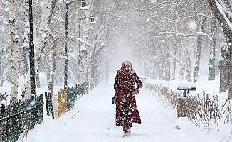 Bursa'da Kar Yağışı Dağ İlçelerinde Etkili Oluyor