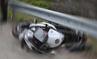 Bursa'da Motosikletten Düşen Şahıs Ağır Yaralandı!