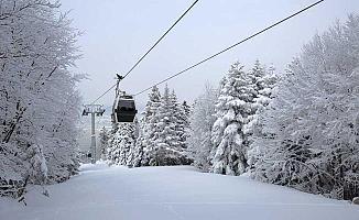 Uludağ'da Kar Kalınlığı 76 Santimetre Oldu!