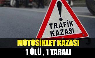 Bursa'daki Motosiklet Kazasında 1 Kişi Hayatını Kaybetti