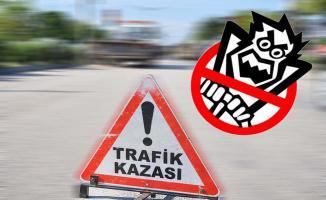 Bursa'da Otomobil Bariyerlere Saplandı: 1 Yaralı