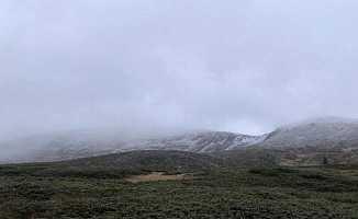 Bursa'nın İncisi Uludağ'a Kar Yağdı