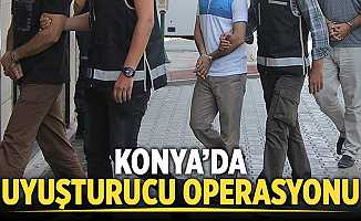 Konya'da 1,5 Milyon Liralık Uyuşturucu Madde Ele Geçirildi