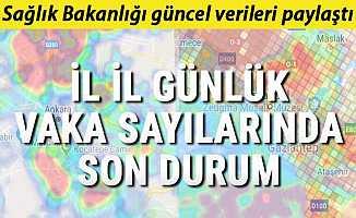 Türkiye Covid-19 Koronavirüs Tablosu, İyileşen ve Ölen Kişi Sayısı