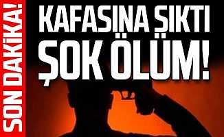 Ankara'da Poligonda Kafasına Sıkarak Yaşamına Son Verdi