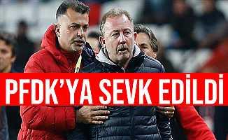 Beşiktaş Teknik Direktörü Sergen Yalçın PFDK'ya Sevk Edildi