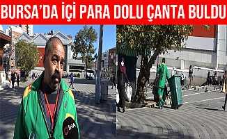 Bursa'da İçinde 650 Bin Lira Bulunan Çantayı Sahibine Teslim Etti