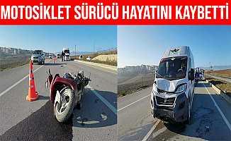 Bursa'daki Kazada Yaralanan Motosiklet Sürücüsü Öldü