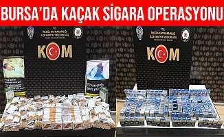 Bursa İnegöl'de Kaçak Sigara Operasyonu: 4 Gözaltı