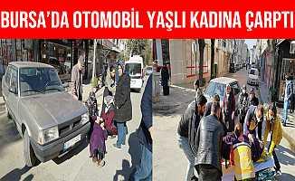 Bursa İnegöl'de Otomobilin Çarptığı Yaşlı Kadın Yaralandı