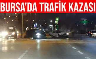 Bursa İnegöl'deki Kazada Kanlar İçindeki Sürücü Aracını DÜşündü