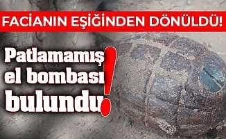 Bursa İznik'te Göl Kenarında El Bombası Bulundu