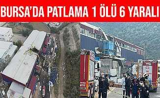 Bursa Kestel'deki Fabrikada Patlamada 1 Ölü, 2'si Ağır 6 Yaralı