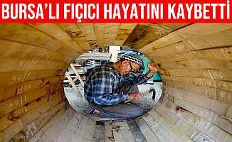 Bursa'lı Son Fıçıcı Hayatını Kaybetti