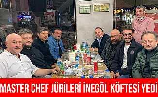 Bursa'ya Gelen Master Chef Jüri Üyeleri İnegöl Köftesini Beğendi