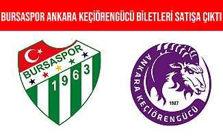 Bursaspor-Ankara Keçiörengücü Maçının Biletleri Satışa Çıktı