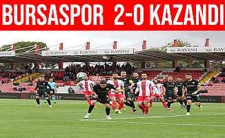 Bursaspor Balıkesirspor'u Deplasmanda 2-0 Yendi