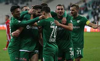 Bursaspor Boluspor Maç Sonucu: Bursaspor: 3 - Boluspor: 1